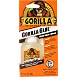 Gorilla Glue Original, 100% Waterproof, Indoor & Outdoor, Polyurethane Glue, Versatile Bonding Adhesive, Easy Application Noz