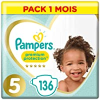 Pampers: Promotions sur les couches Premium Protection Taille5