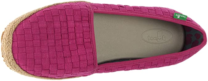 d184bf74b44 Sanuk W Basket Case Slip On Shoes  Amazon.co.uk  Shoes   Bags