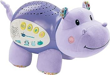VTech Baby - Proyector Musical POPI estrellitas, Color púrpura, versión española (80-