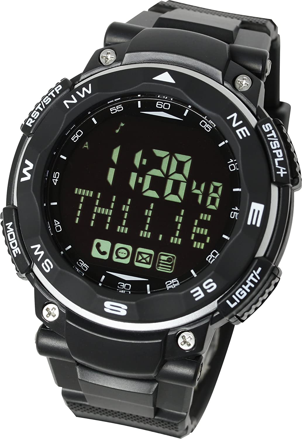LAD WEATHER Smart Gear 2 Smartwatch para iPhone y Android ...