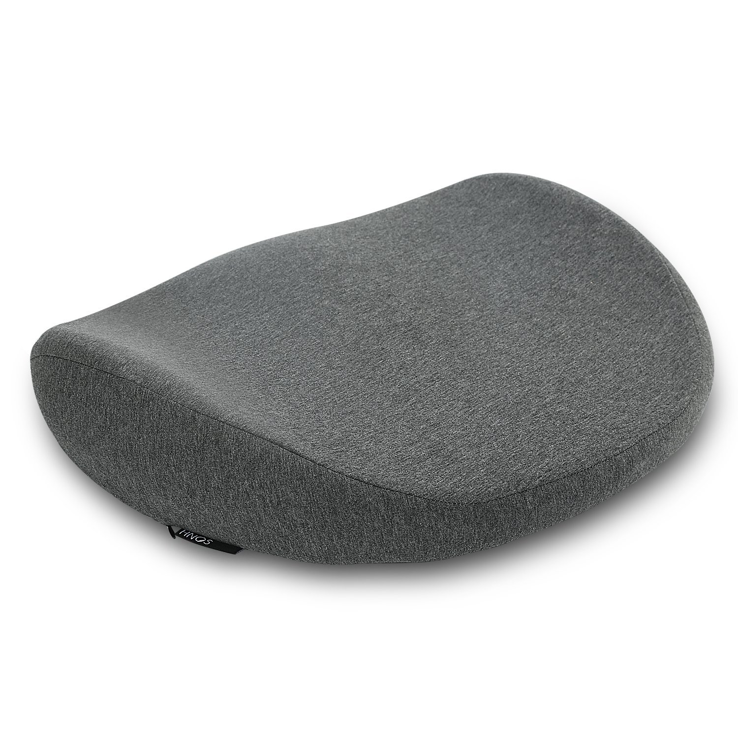 Hnos Comfort Seat Cushion, Memory Foam Coccyx Cushion Orthopedic Design To Relieve Back, Sciatica, Coccyx and Tailbone Pain, Perfect for Your Office Chair, Car Seat, Sitting on Floor