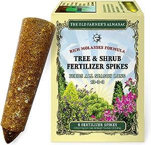 The Old Farmer's Almanac Tree & Shrub Fertilizer Spikes (Box of 6 Spikes)