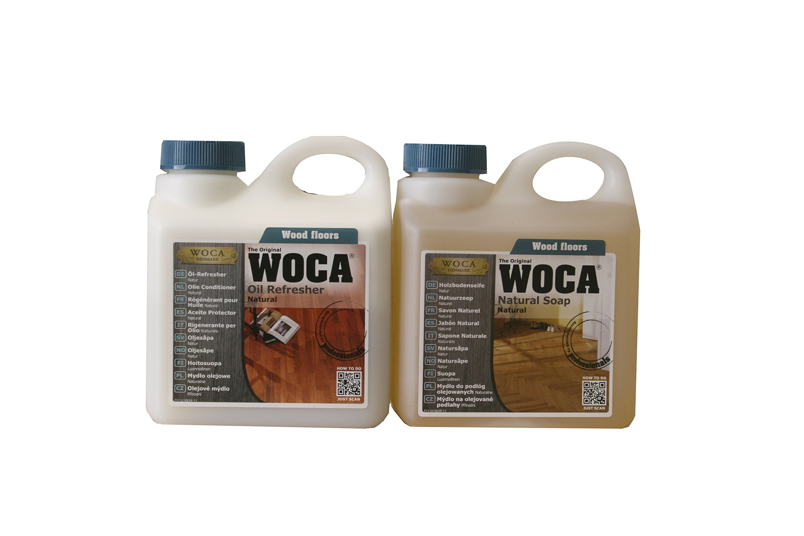 Woca Maintenance Sets 1 Liter (Natural 1 liter) by Woca Denmark