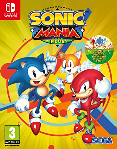 Sonic Mania Plus - Nintendo Switch [Importación italiana]: Amazon ...