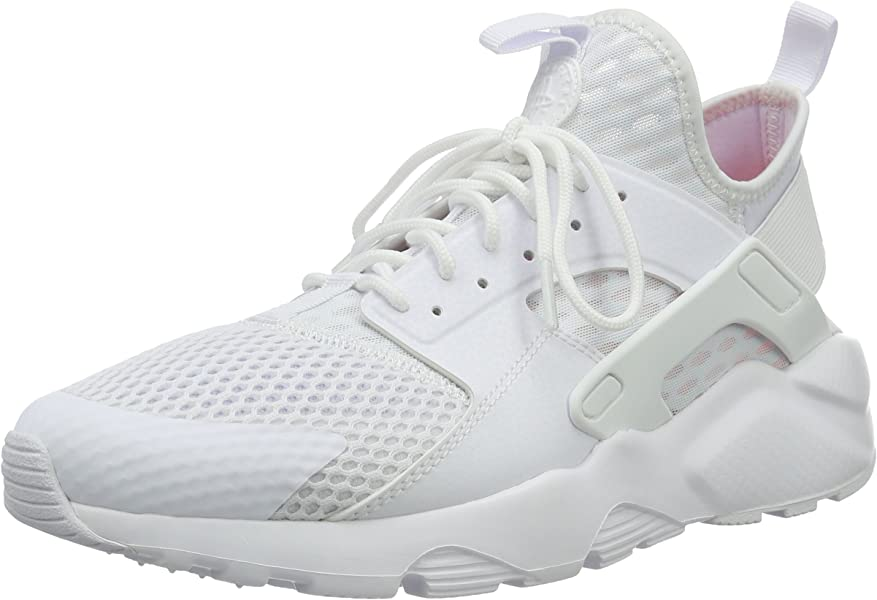 separation shoes 1f525 04882 Amazon.com   NIKE Mens Air Huarache Run Ultra BR White Fabric Size 8.5    Shoes