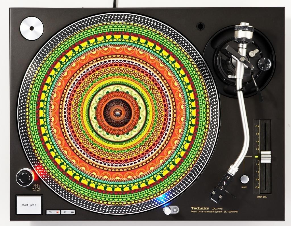 DJ Tocadiscos - Slipmat para plato: Amazon.es: Instrumentos musicales