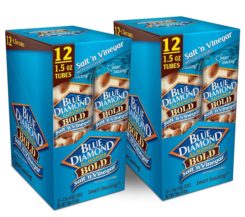 Blue Diamond Almonds, Bold Salt & Vinegar, 1.5 Ounce (Pack of 24) by Blue Diamond Almonds (Image #3)