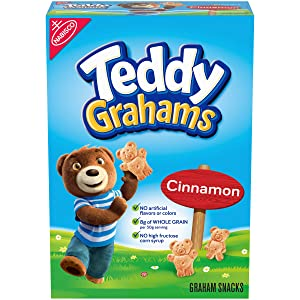 Teddy Grahams Cinnamon Graham Snacks, 1 box (10z)