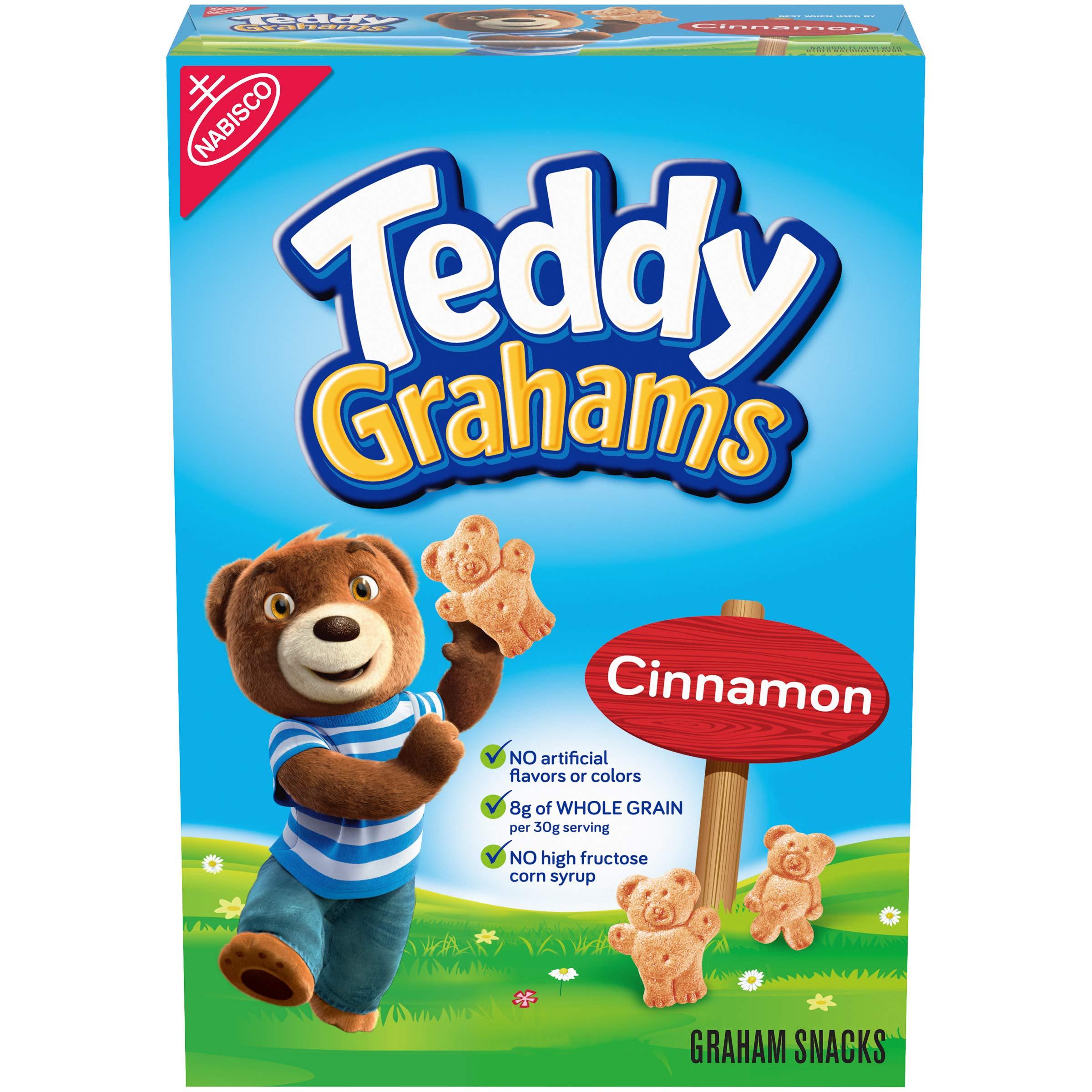 Teddy Grahams Cinnamon Graham Snacks, 1 box (10oz)