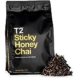 T2 Tea Sticky Honey Chai Loose Leaf Black Tea in Resealable Foil Refill Bag, 250g