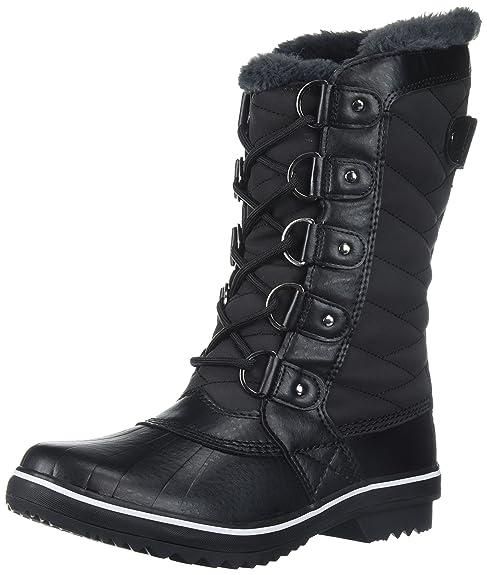 f834d0ec1b2 Jambu JBU Women's Lorna Mid Calf Boot, Black, 6.5 M US: Amazon.ca ...