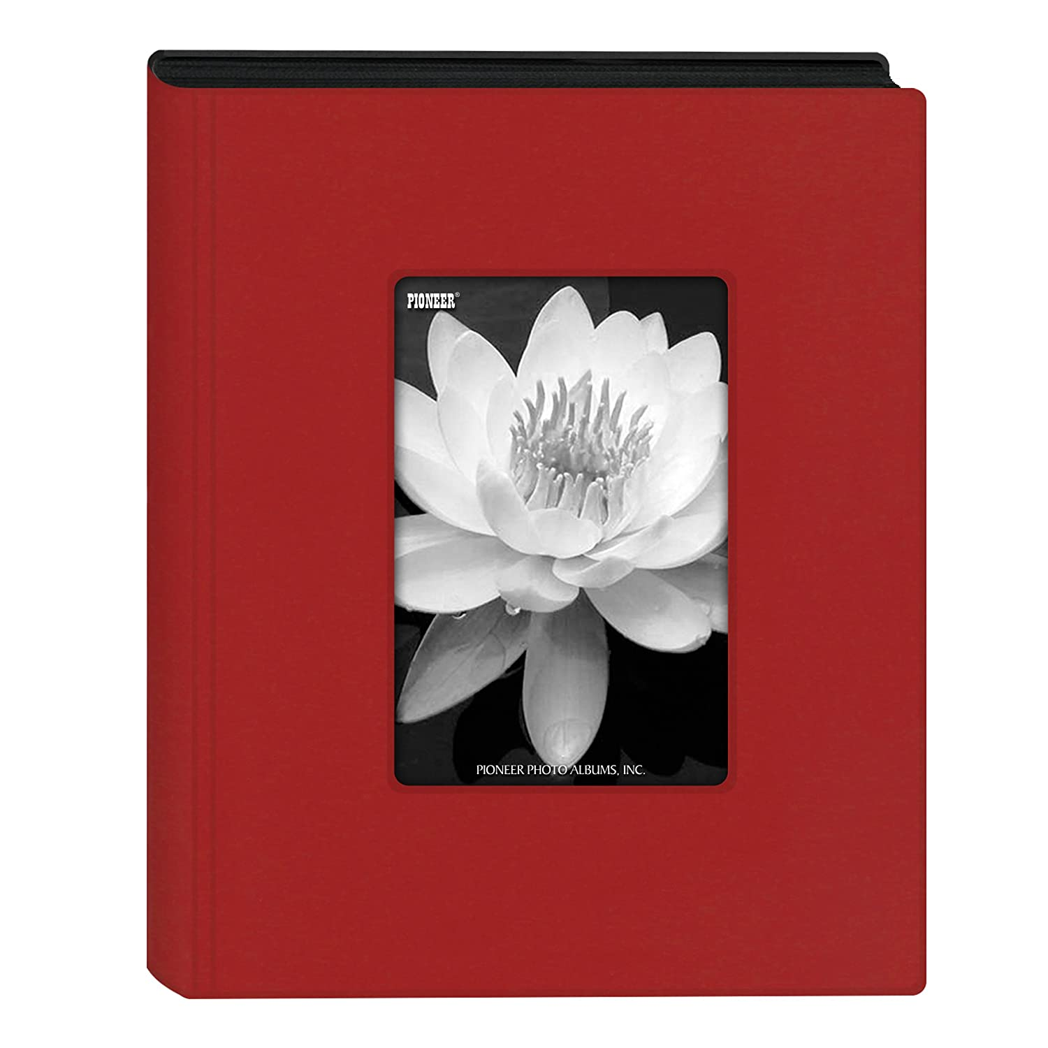 Pioneer Photo Albums Mini Frame Cover Photo Album, Holds 24 Photos, Red, 4 x 6 4 x 6 KZ-46/R