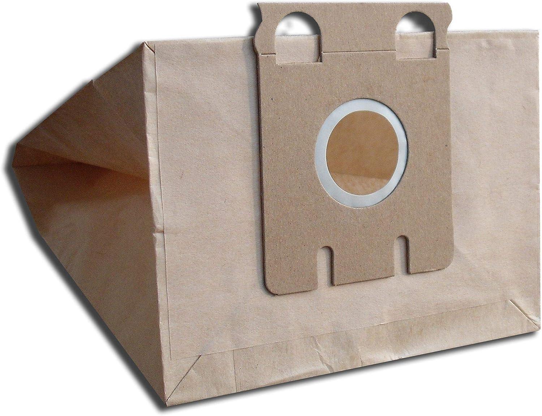 10 bolsas para aspiradoras Miele talla E, S217, S218, S219, S220, S221, S223, S224, S225, S226, E, De Luxe, Electronic: Amazon.es: Hogar