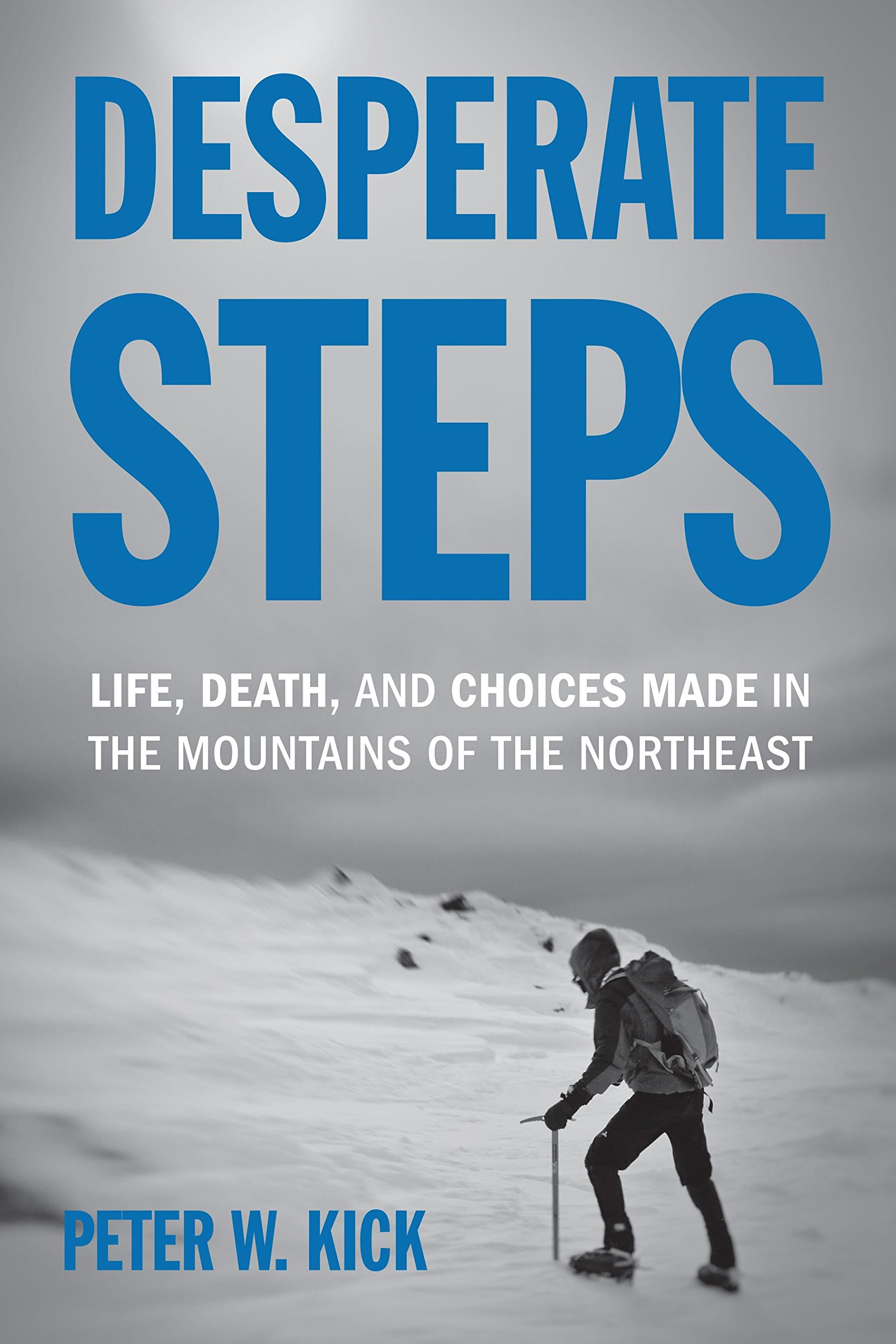 Desperate Steps: Life, Death, and Choices Made in the Mountains of the Northeast by Appalachian Mountain Club