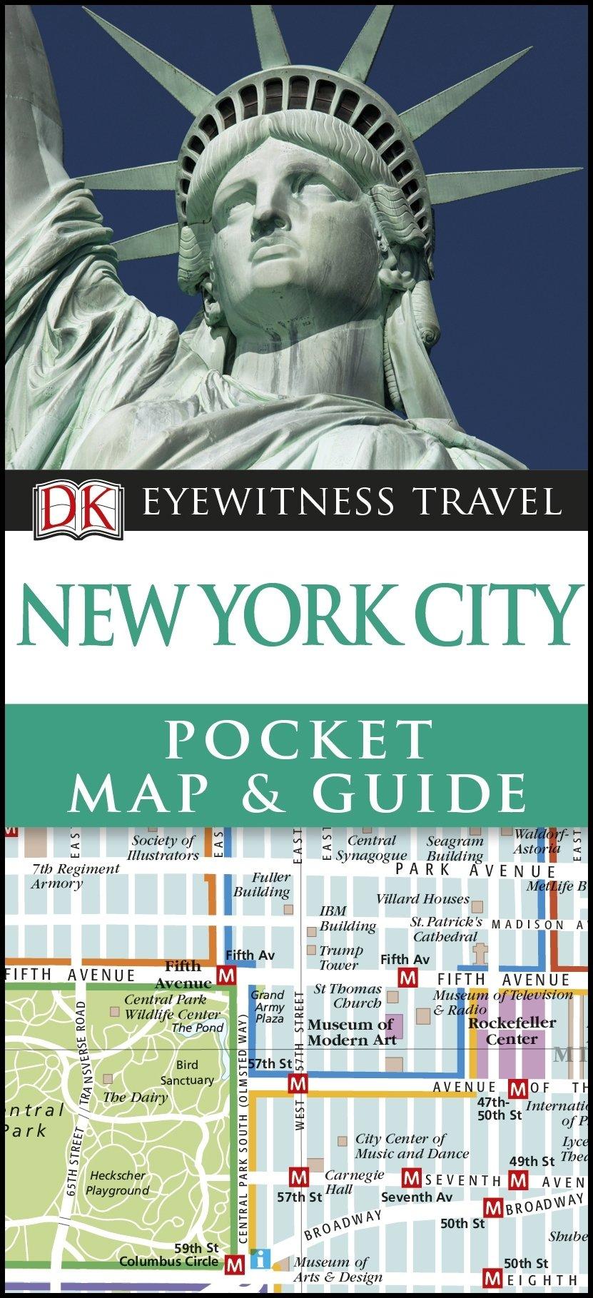 DK Eyewitness Pocket Map Guide