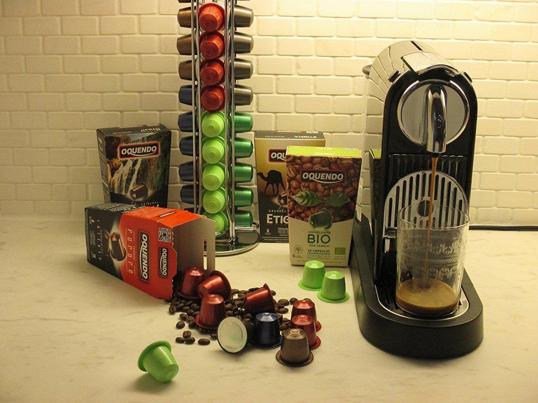 80 Cafés Oquendo Nespresso Compatible Coffee Capsules – (FURORE) Premium Quality Nespresso coffee - 8 Boxes 10 capsules in each box - 80 cups - 60 Day ...
