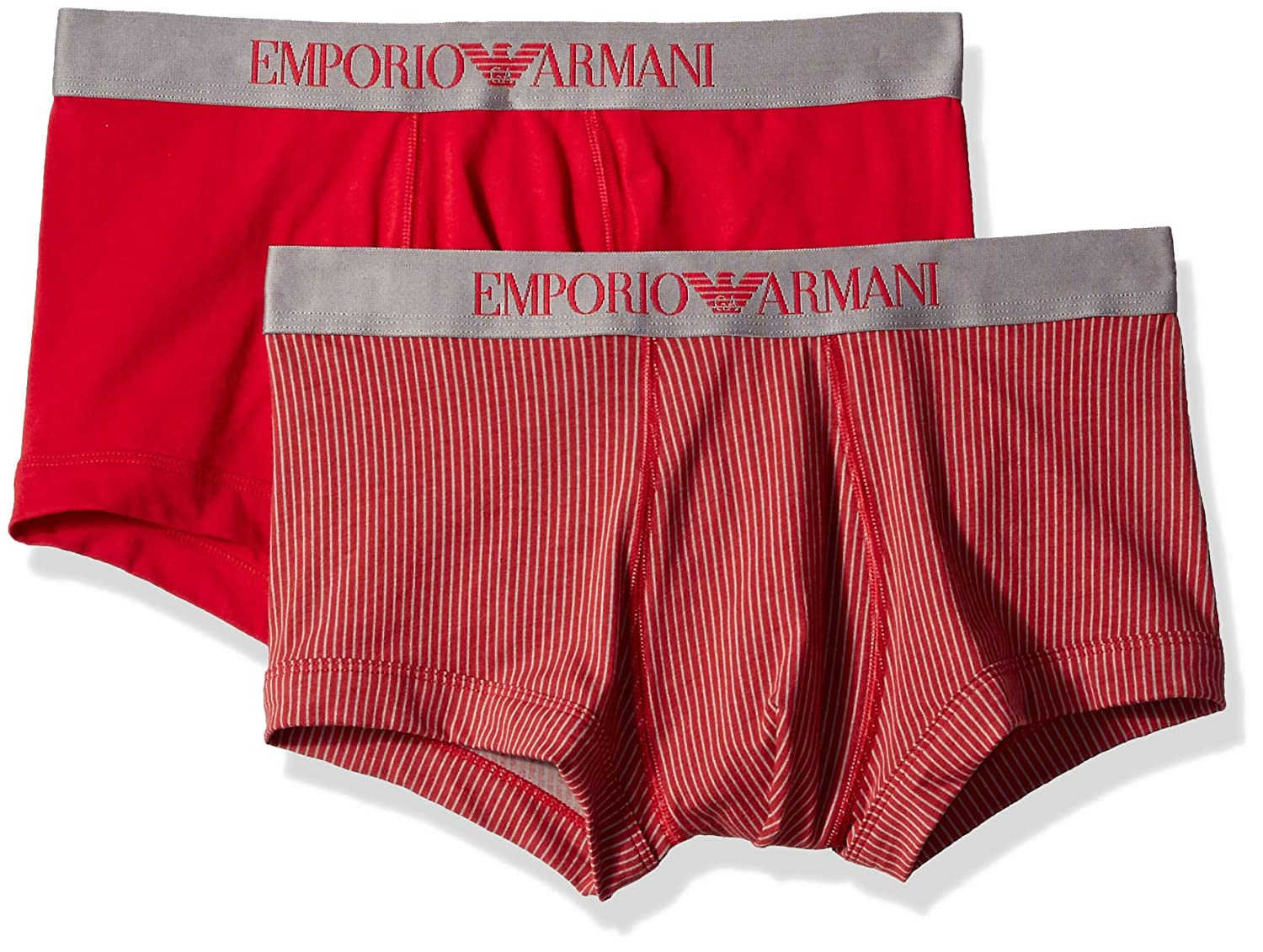 Emporio Armani Men's Printed Patterns 2 Pack Trunk 1112108A504