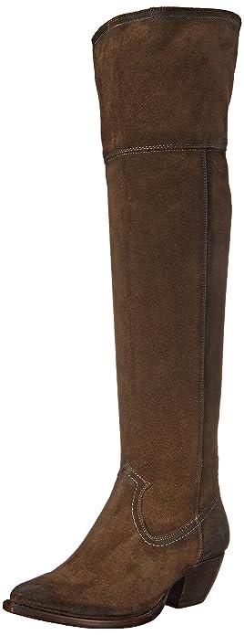 da59a17f634c Amazon.com: FRYE Women's Sacha Over The Knee Western Boot: Shoes