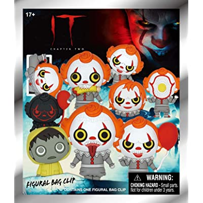 Warner Bros. It Chapter 2 - Pennywise - 3D Foam Bag Clip in Blind Bag: Toys & Games