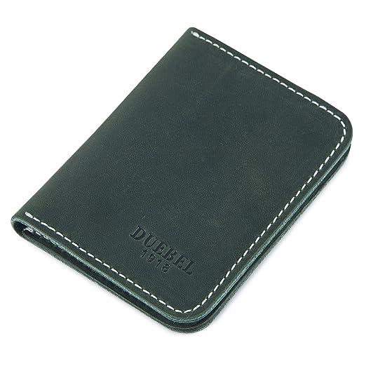 Amazon Duebel Slim Front Pocket Leather Wallet Minimalist Thin