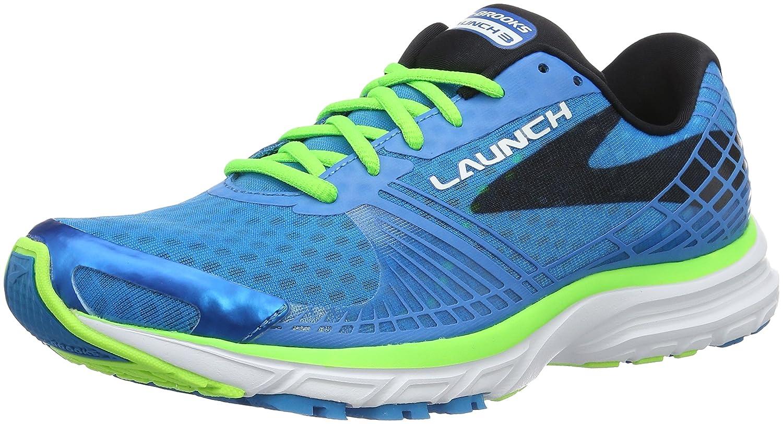 Brooks Launch 3, Zapatillas de Running para Hombre 41 EU Azul (Blau/Grün)
