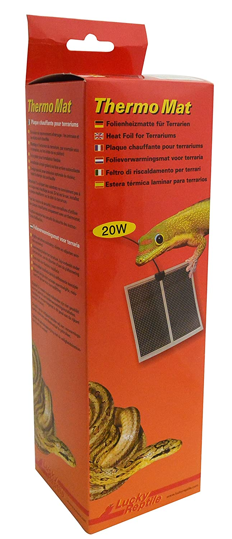 LUCKY REPTILE HTM-14 Thermo Mat, tapis chauffant pour terrariums HTM-20