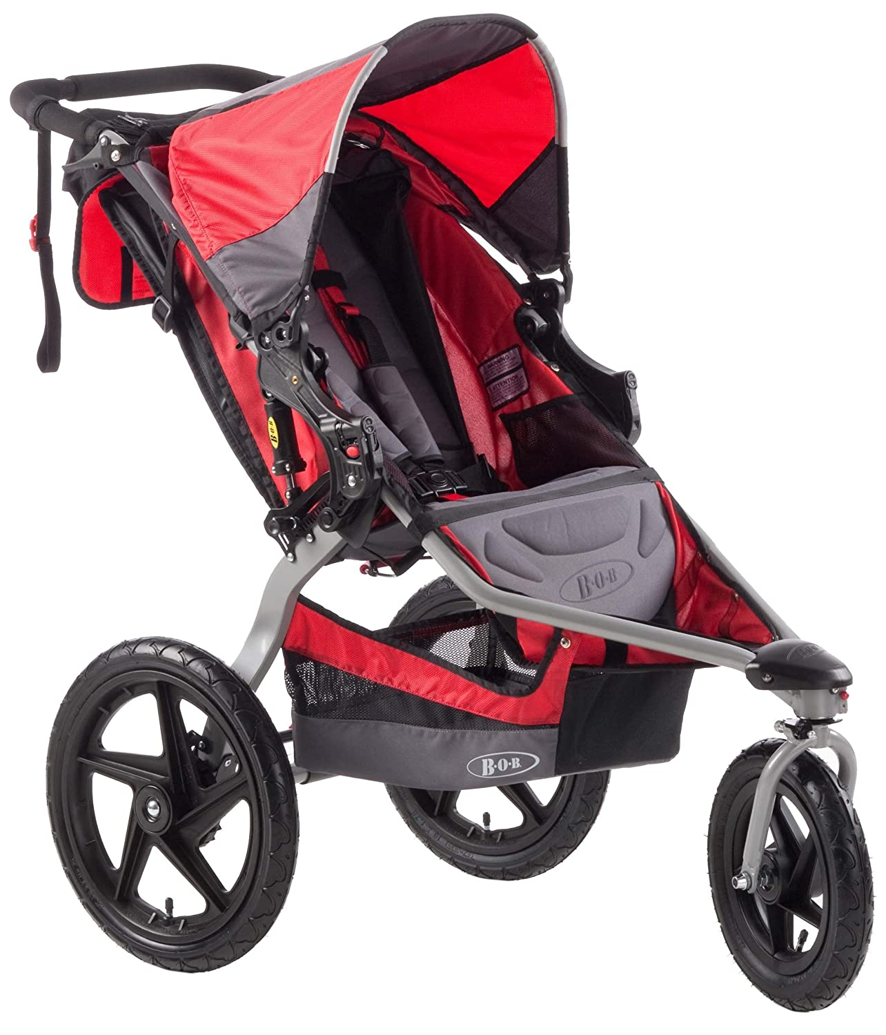 Amazon BOB Stroller Strides Single Fitness Stroller Red Jogging Strollers Baby