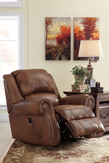 Superbe Ashley Furniture Signature Design   Walworth Power Recliner   Club Chair    Auburn