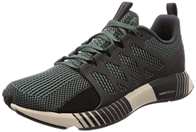 Reebok Men s Green Coal Blk Prchmnt Running Shoes-11 UK India (45.5 ... d0cf5feed