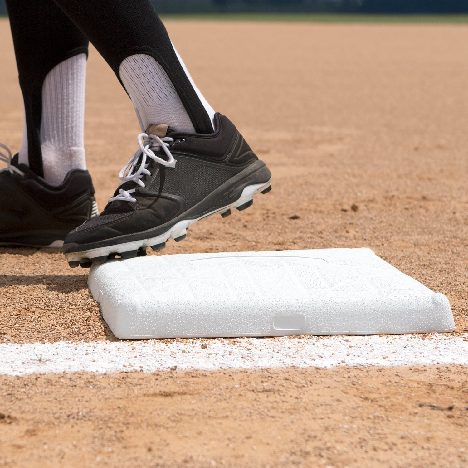 Champion Sports Impact Baseball Bases: Hollywood Type Safety Collapsible Bases with Anchor Plug - Sports Equipment Bags for Youth Baseball & Softball by Champion Sports (Image #5)