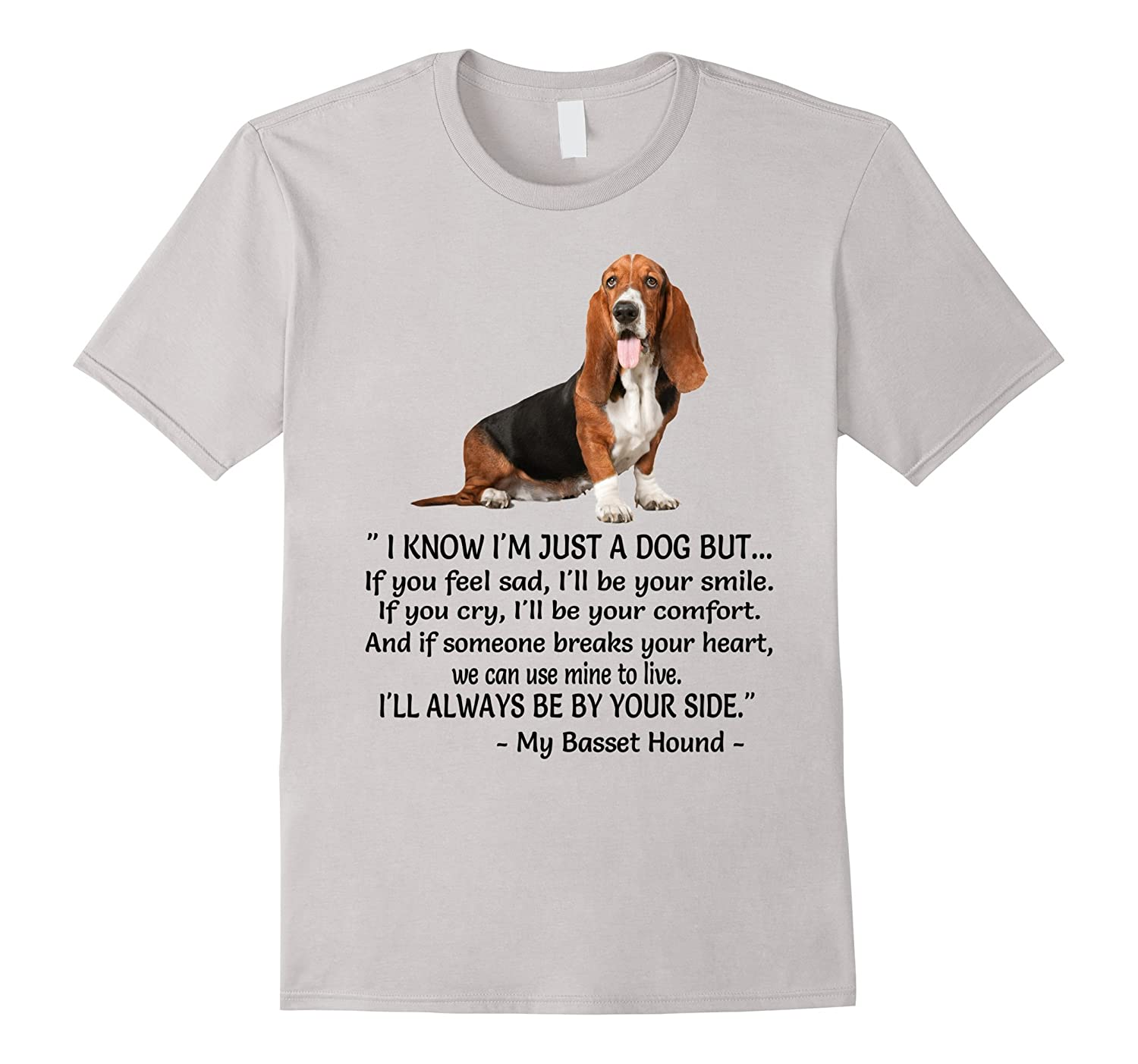 Basset hound Diamonds Tshirt-TH - TEEHELEN