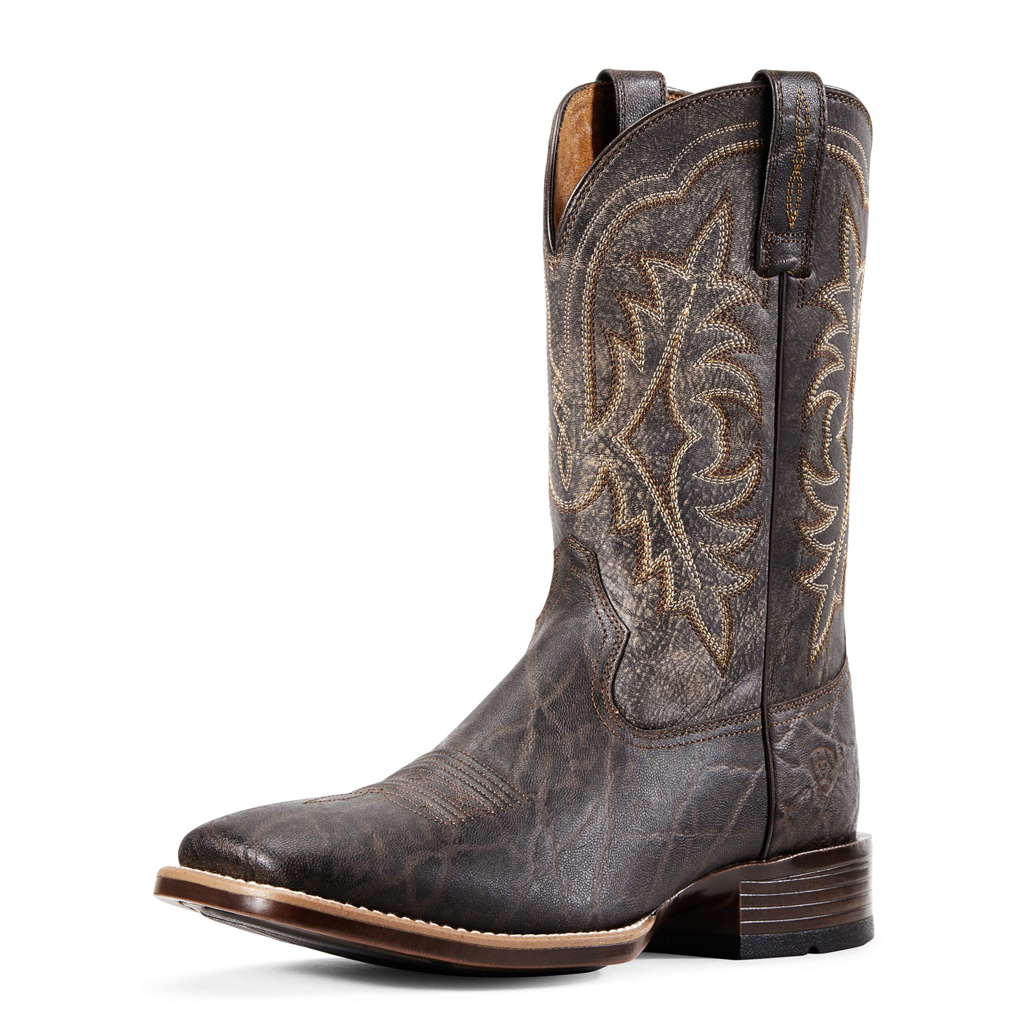 ARIAT Men's Ryden Ultra Western Boot Chocolate Elephant Print Size 10 D/Medium Us by ARIAT