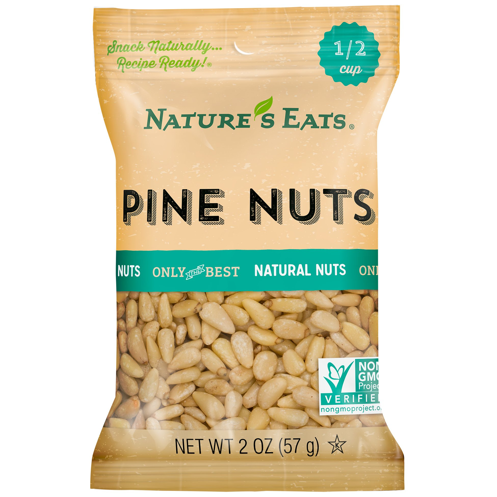 Nature's Eats Pine Nuts, 2 Ounce