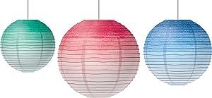 Watercolor Hanging Paper Lanterns