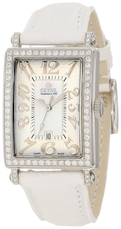 Gevril(ジェビル) Women's 7249NL Mini Quartz Avenue of Americas White Diamond Watch B001CGHS3S