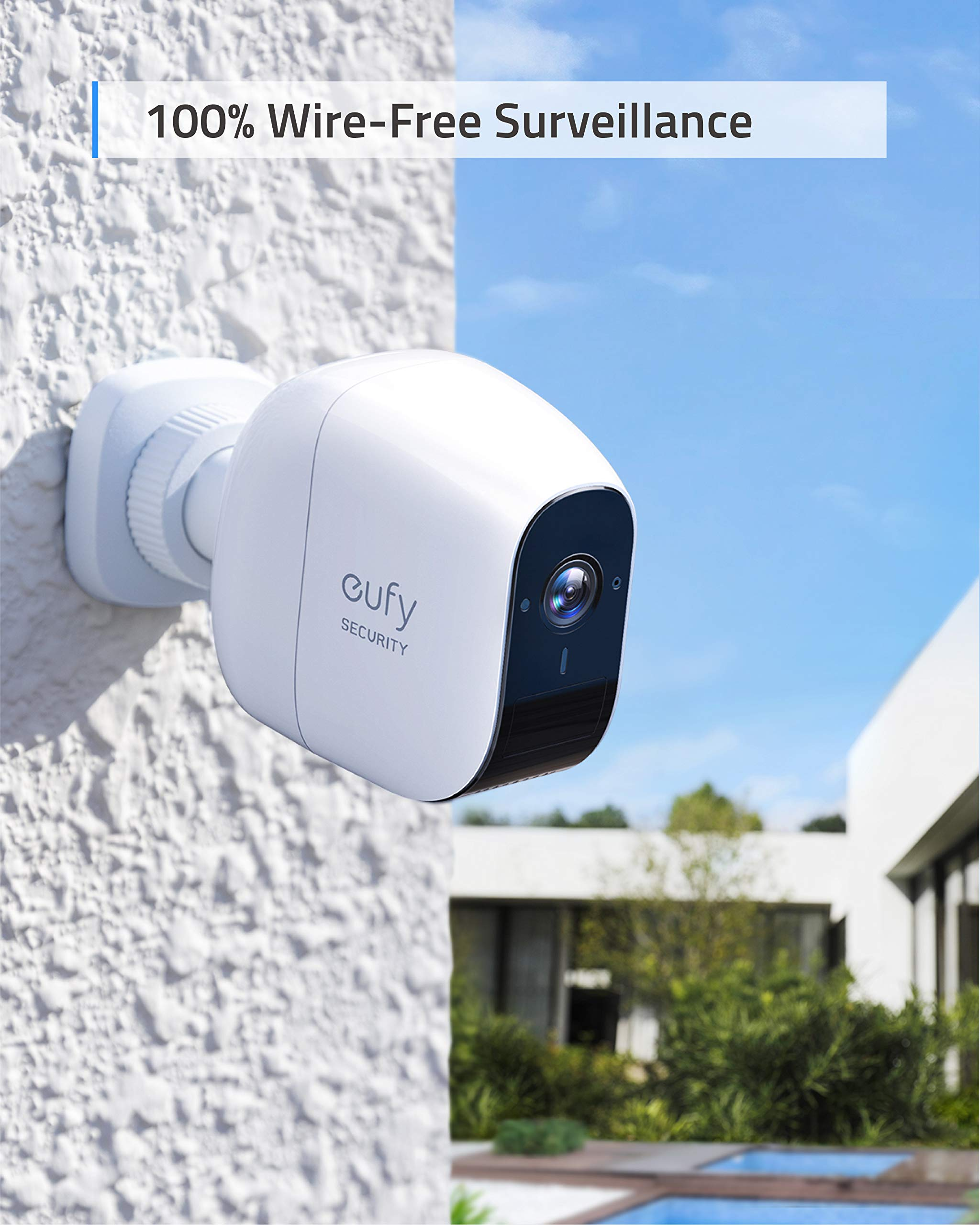 Wireless Home Security Camera System, eufy Security eufyCam E 365-Day Battery Life, 1080p HD, IP65 Weatherproof, Night Vision, Compatible with Amazon Alexa, 2-Cam Kit, No Monthly Fee by Eufy (Image #2)