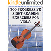 300 Progressive Sight Reading Exercises for Viola book cover