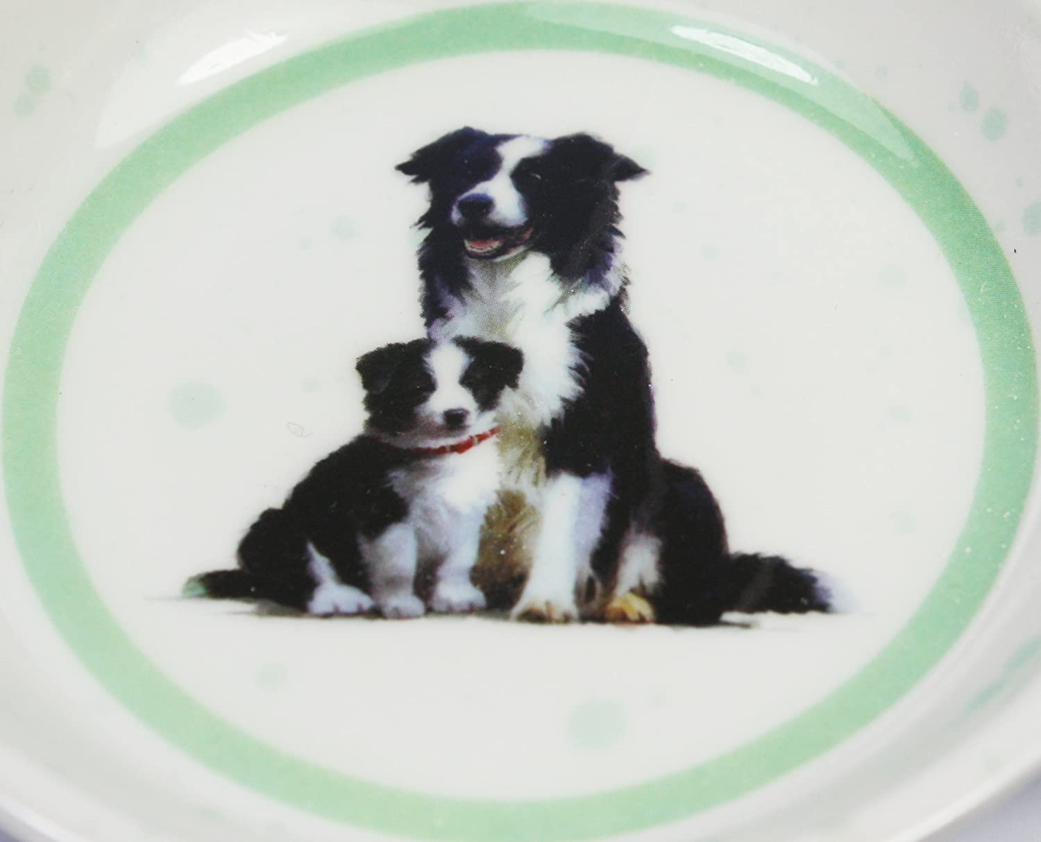 Teabag Tidy Border Collie and Puppy