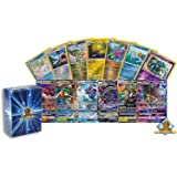 20 Assorted Pokemon Cards - 2 GX Ultra Rares and 18 Reverse Holographic Rares - Authentic with No Duplication - Includes Gold