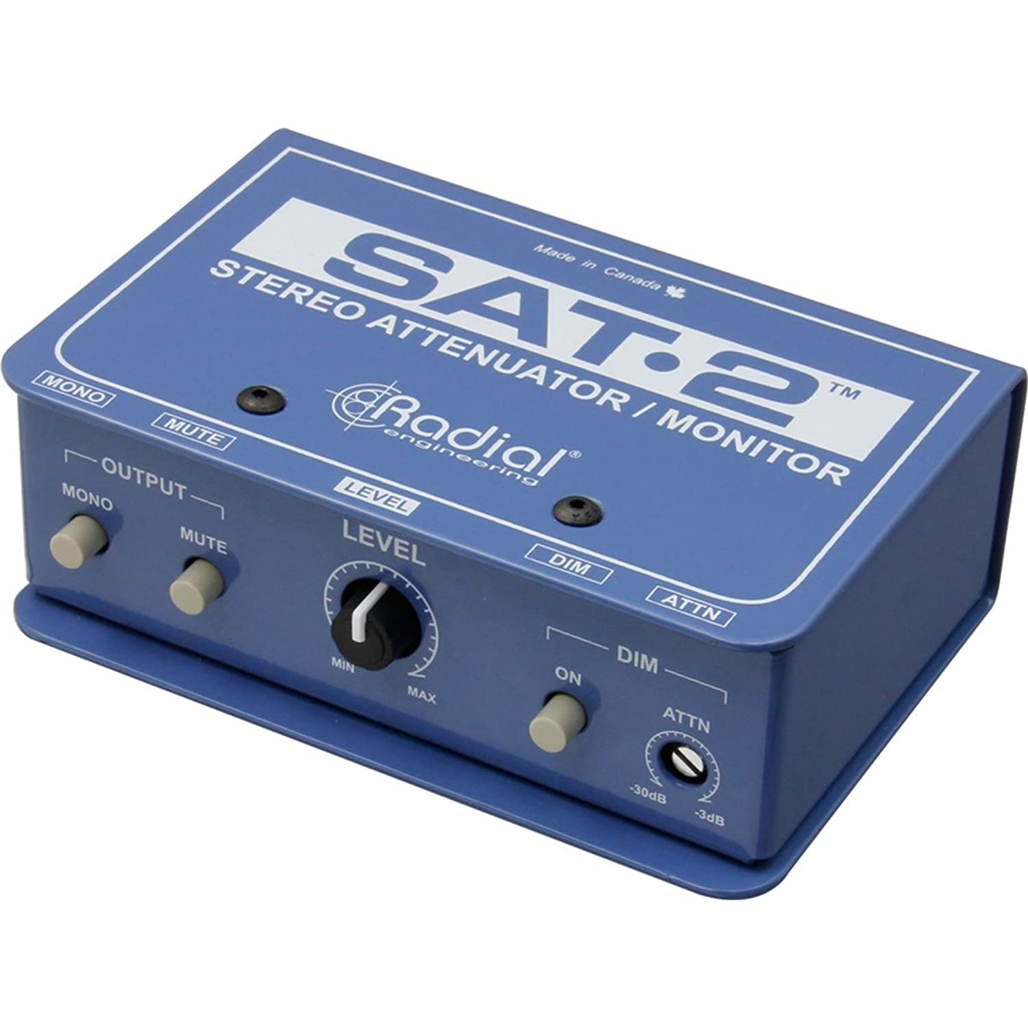 Radial Engineering SAT-2 - Stereo Audio Attenuator & Monitor Controller