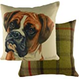 "Waggy Dogz 17"" Cushion Boxer Dog"