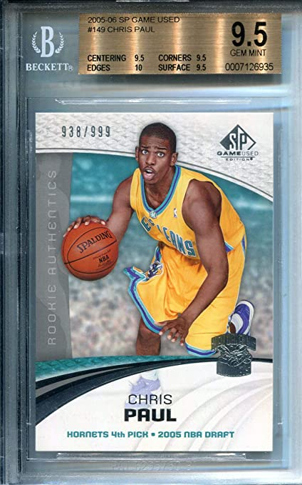 Chris Paul 2005-06 Upper Deck Sp Game Used Rookie Card (BVG) at ... 8ca163e8b