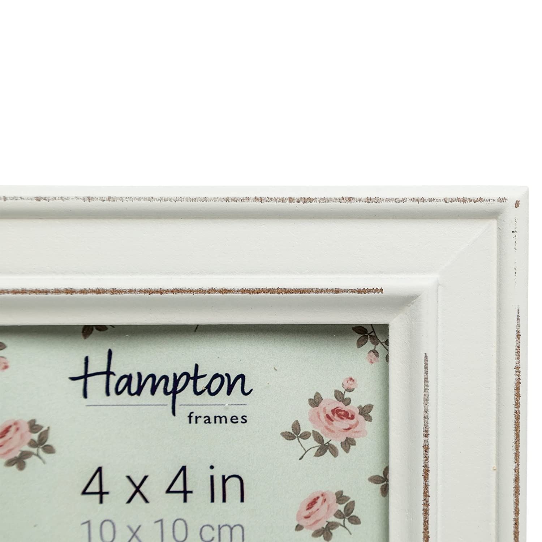 Amazon.de: Hampton Frames Paloma Bilderrahmen, Holz, quadratisch ...
