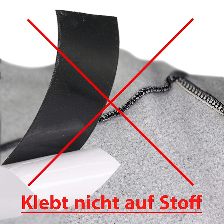 L/änge Farbe Klebeshop24 KLETTBAND SELBSTKLEBEND Breite w/ählbar Set Haken /& Flausch
