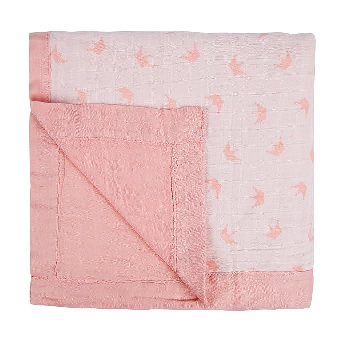 Manta de muselina súper suave para bebés unisex de dos capas y cuatro capas, 70 % bambú, 30 % algodón: Amazon.es: Bebé