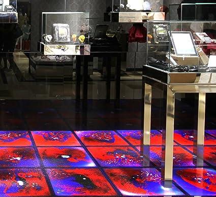 Amazon Com Art3d 6 Piece Liquid Fusion Floor Tile Hard Floor