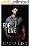 For One Night: (Redemption Hwy 10) (The Daly's Book 3)