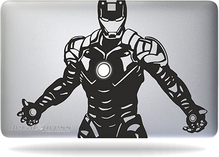 Iron Man Tony Stark - Macbook Air-pro 11 13 15 17 Stickers,decal