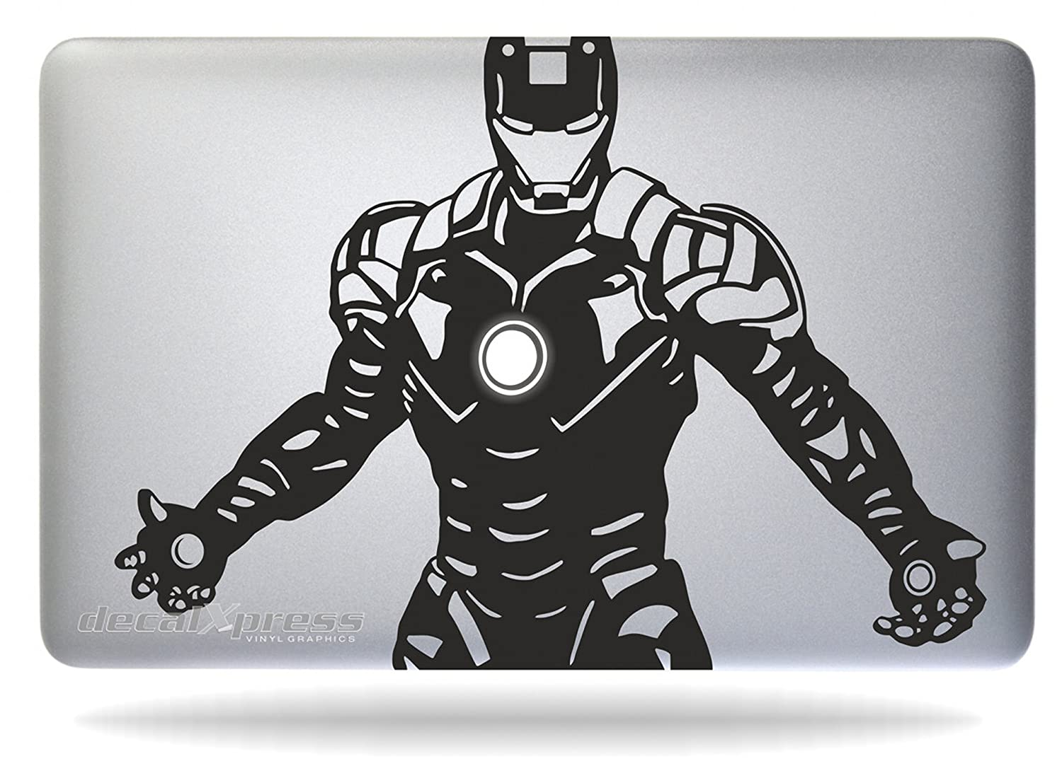 Amazon com iron man tony stark macbook air pro 11 13 15 17 stickersdecal computers accessories